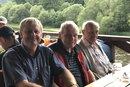 Poslední společná fotografie s Janem Stráským. 15. června loňského roku jsme vyrazili na obhlídku rekonstruovaného Rožmberka a pak zašli na pivo...